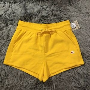 NWT Champion Reverse Weave Shorts Womens Sz L